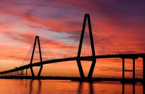 Ravenel Bridge Charleston Mount Pleasant South Carolina